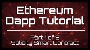Ethereum tutorial for alllevels