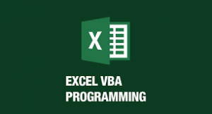 Excel VBA programming