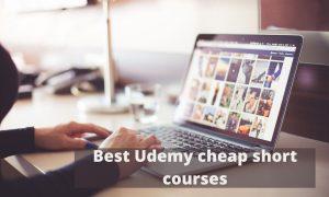 Best Udemy cheap short courses